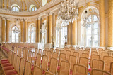 Ball room in Royal Castle in Warsaw.