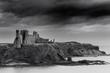 Leinwandbild Motiv Tantallon Castle en écosse