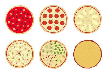 Pizza con sabores 4