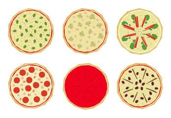 Pizza con sabores 1