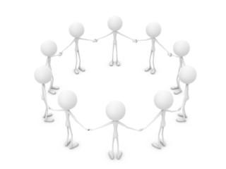 Mr. Emotion V23.3b Community Circle white