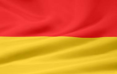 Landesflagge des Burgenlandes - Österreich