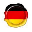 button deutschland, germany, siegel, stempel