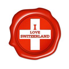 i love switzerland button, fan siegel, stempel