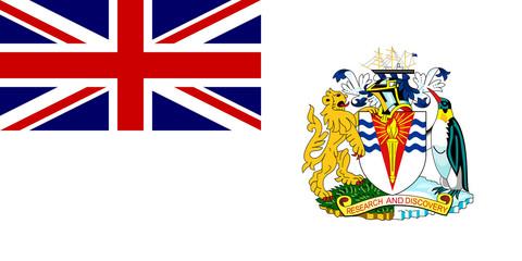 British Antactic Territory Flag