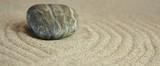 Kamenný kruh v piesku