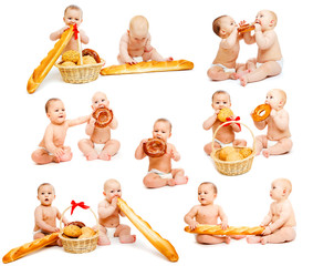 Bread babies collection