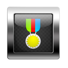 Metal Button Medal