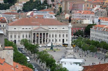 Portugal, vue générale de Lisbonne