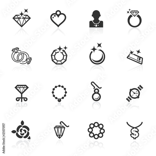 Jewelery Icons - minimo series