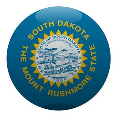 boule dakota du sud south dakota ball drapeau flag
