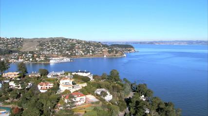 Aerial view of San Francisco Bay, USA