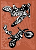 Fototapety Motorbike.