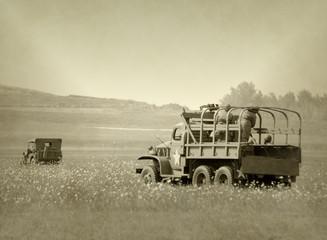 Trucks on battlefront