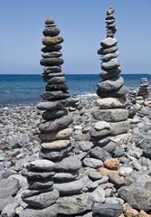 two column stones