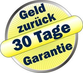 30 Tage Geld zurück Garantie - Icon