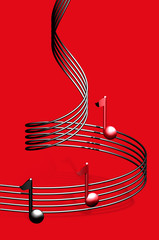 cartel rojo música 2