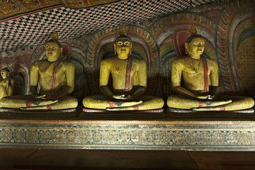 Ancient Buddha images