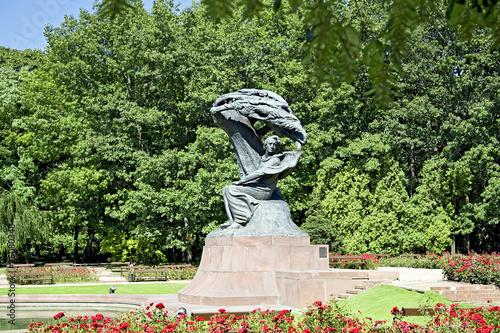 Leinwanddruck Bild Summer with Chopin.