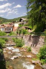 Fluss Bach Bergbach Bergfluss Gewässer