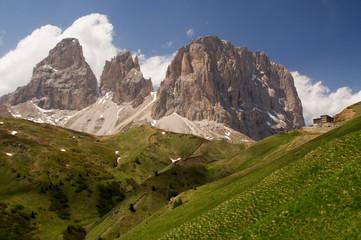 zinnen Bergstation Gipfel alpen dolomiten hochgebirge