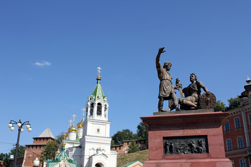 The Statue of Minin and Pozharsky