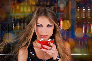 Clubbing girl