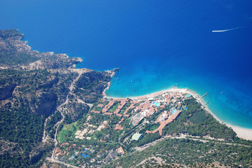 Oludeniz from the air