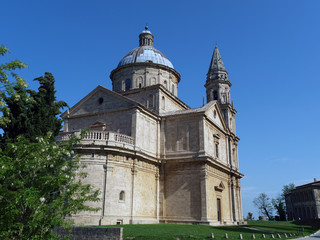 The Sanctuary Of The Madonna Di San Biagio, Montepulciano