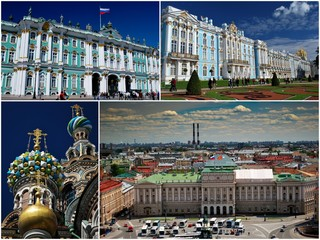 Voyage à Saint Petersbourg