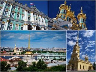 La ville de Saint Petersbourg