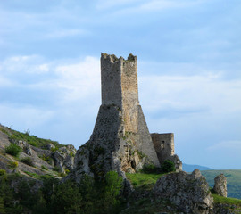 Tower of Pescina, Abruzzo, Italy