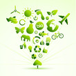 Eco icon tree