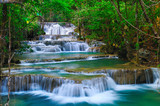 Deep forest Waterfall in Kanchanaburi, Thailand - 25093381
