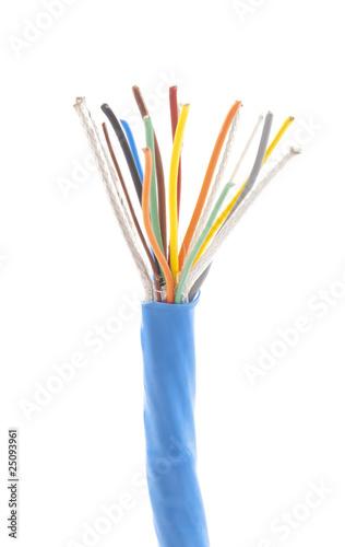 Blue wire