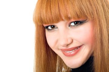 Portrait of the pretty woman