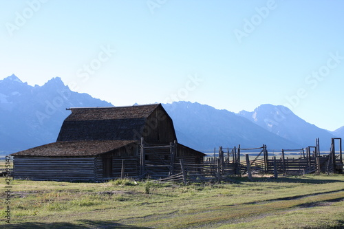 Rustic Barn and fencing