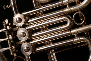 French horn tubes