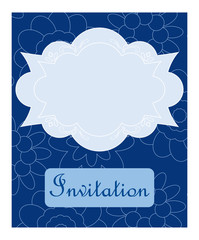 Vector invitation