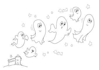 Cerca immagini da carlacastagno for Fantasmi disegni da colorare