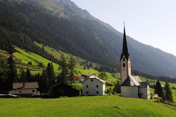 The Austria landscape