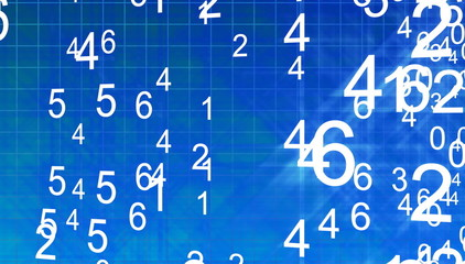 3d numbers arranger randomly