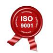 ISO 9001, button, siegel, stempel plakette