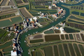 Port ostréicole de La Grève à Duret, Arvert, Charente-Maritimes