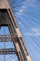 Riesenrad Stahlkonstruktion