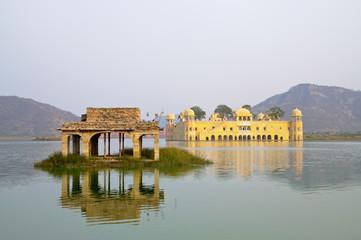 Jal Mahal Palace in Man Sagar Lake Jaipur