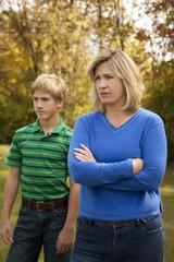 Mom & Son Arguing