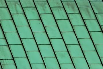 Hintergrund Kupferdach