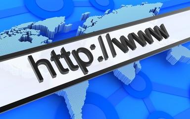 Internet address line