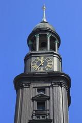 Hauptkirche St. Michaelis zu Hamburg.